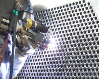 管与管板气体保护自动焊